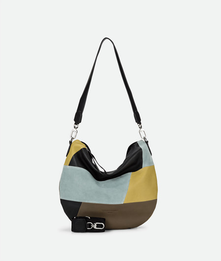 Hobo Bag aus Ledermix