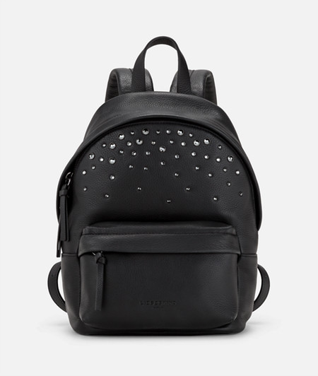 Classic backpack embellished with Swarovski® crystals from liebeskind