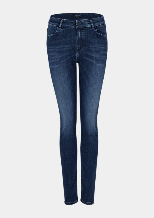 Slim fit: skinny leg jeans from comma