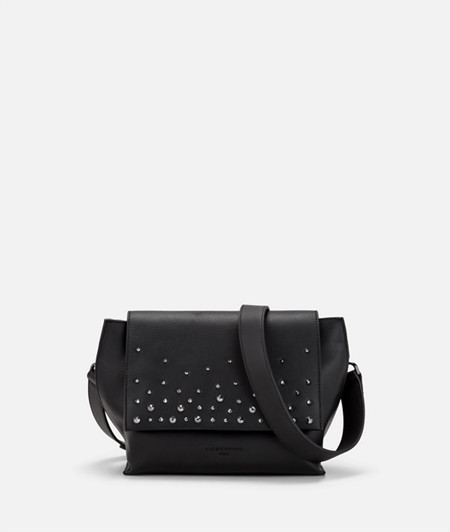 Shoulder bag embellished with Swarovski® crystals from liebeskind