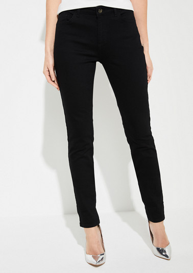 Slim fit: Slim leg jeans from comma