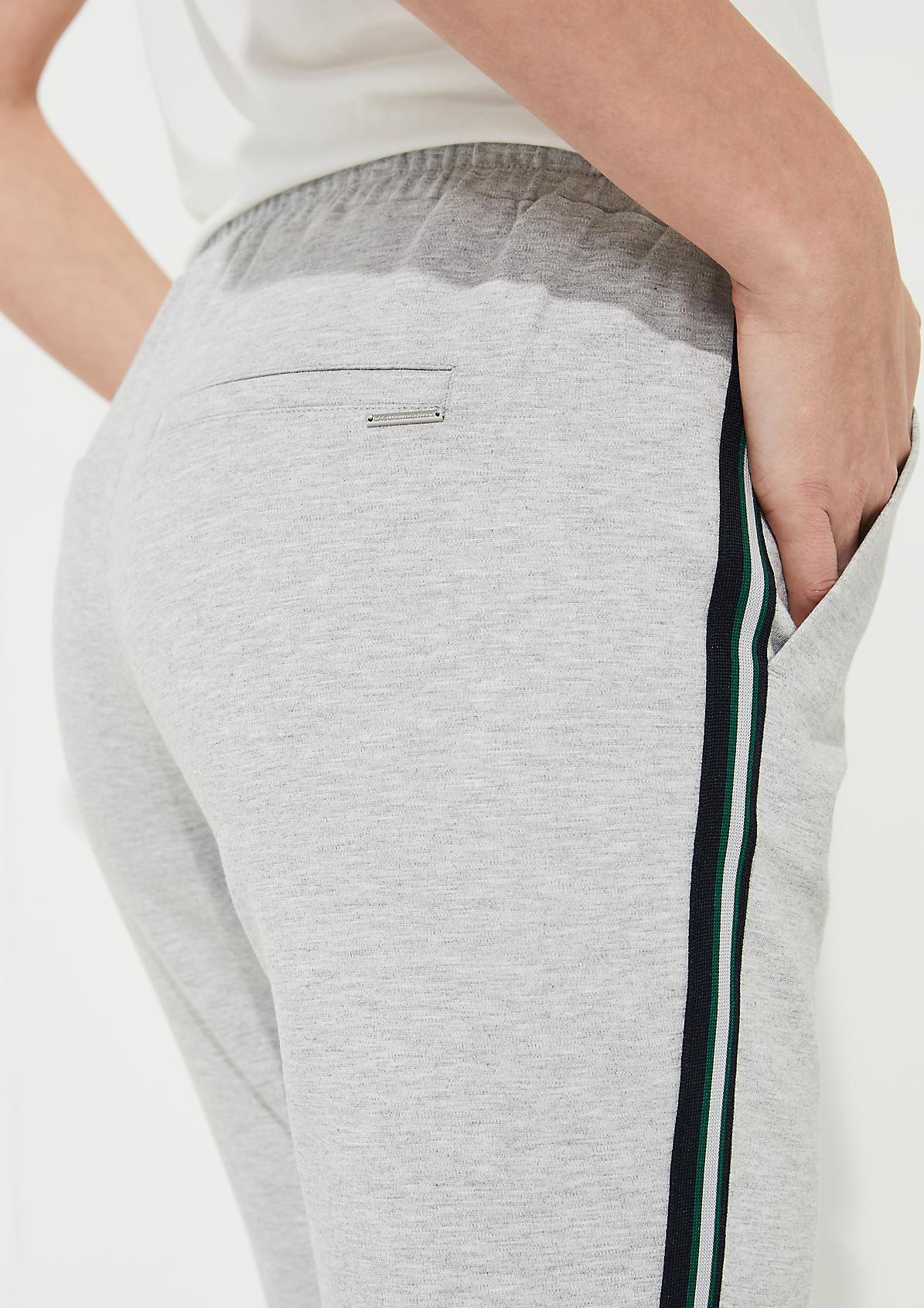Jerseyhose im Athleisure-Look