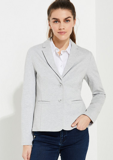 Jersey blazer from comma
