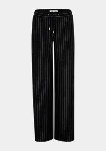 Marlenehose mit Pinstripes
