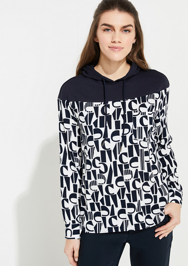 Blouse made of woven fabric from comma