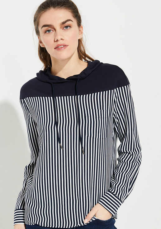 Hooded blouse from comma