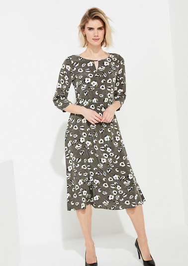 Robe à motif all-over de Comma