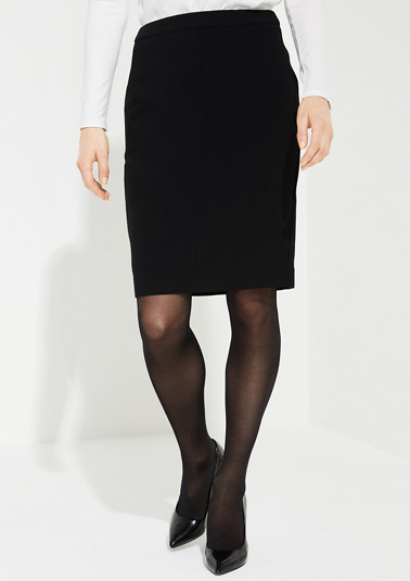 Fine crêpe business skirt from comma