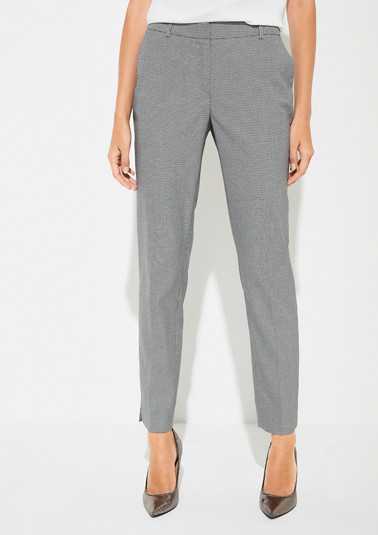 Regular Fit: Slim ankle leg-trousers from comma