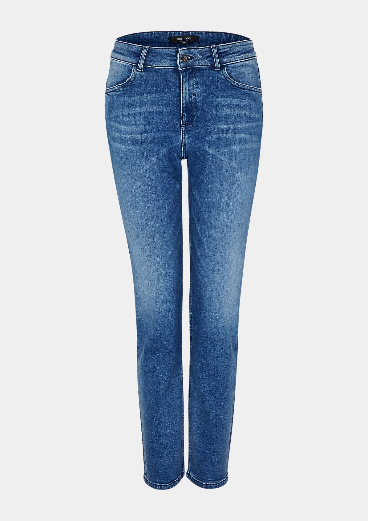 Regular Fit: Straight ankle leg-Jeans