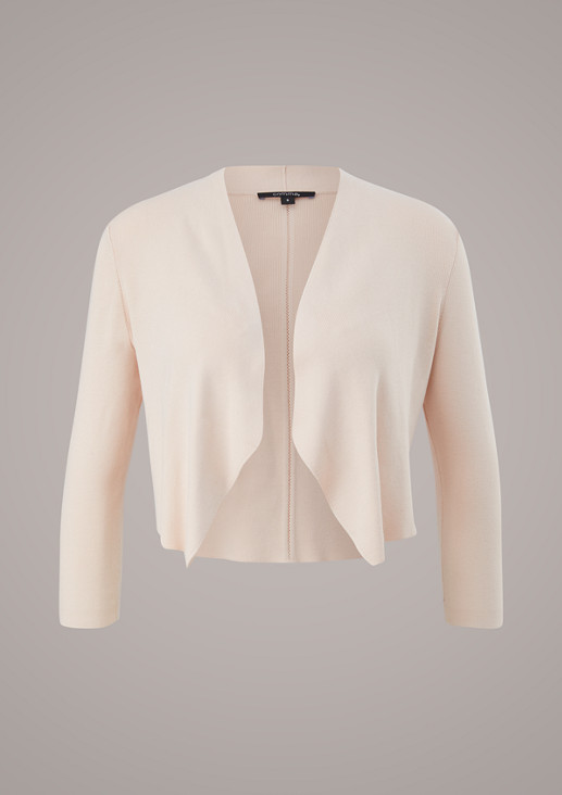 Cardigan without closure from comma