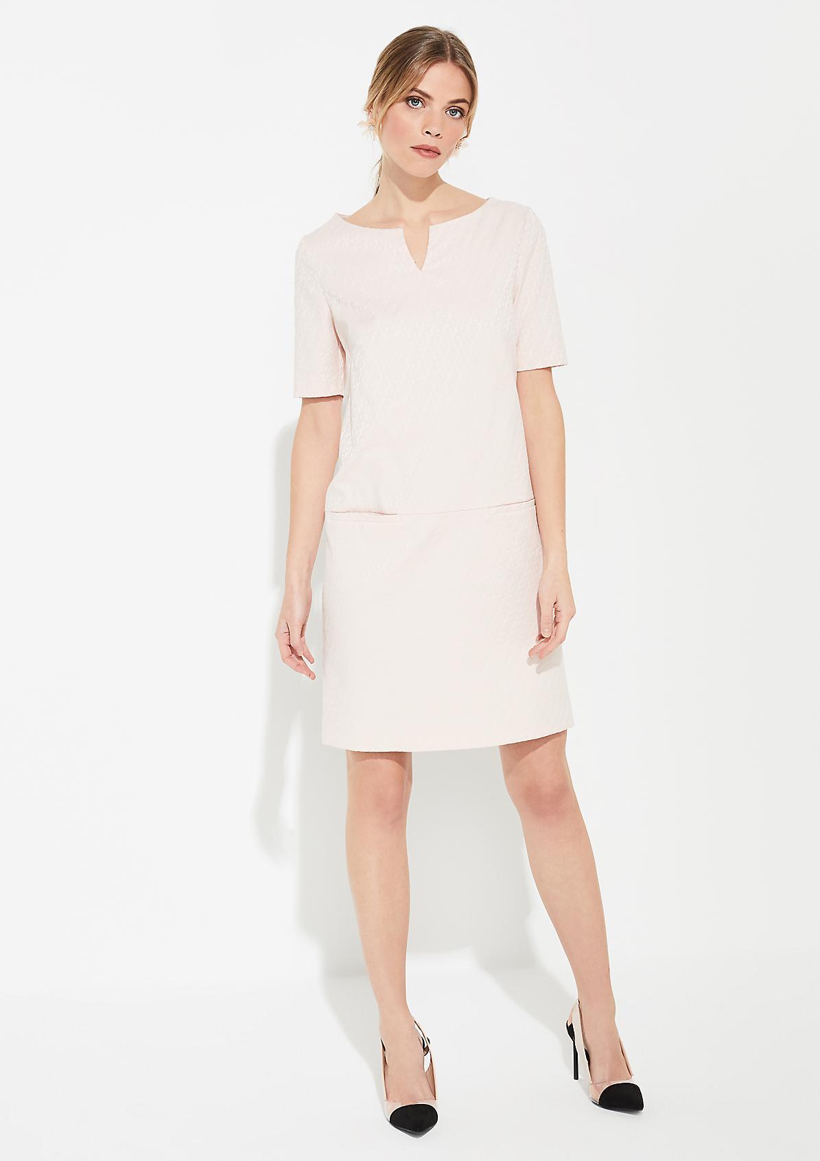 Midi-Kleid aus Jacquard