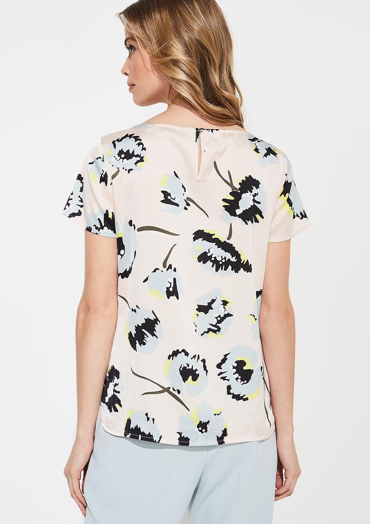 Blusenshirt mit Schmuckperlen