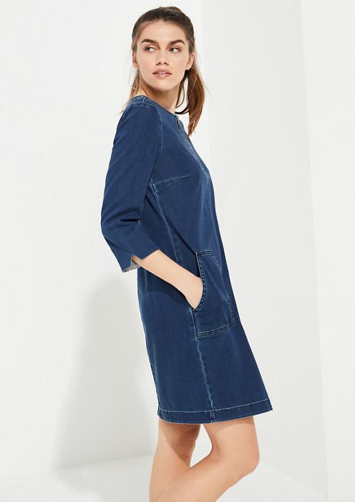 Jeanskleid mit Waschung