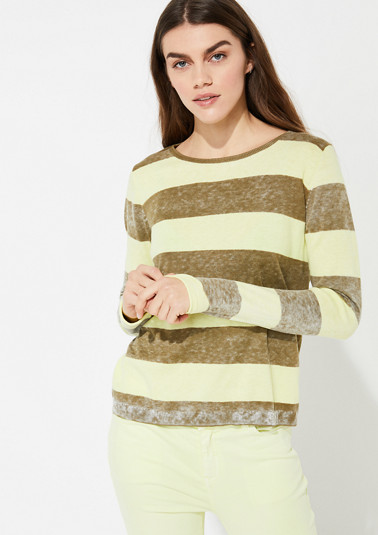Jumper in a vintage finish from comma