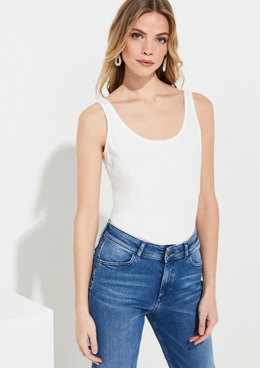 Jersey tank top from comma