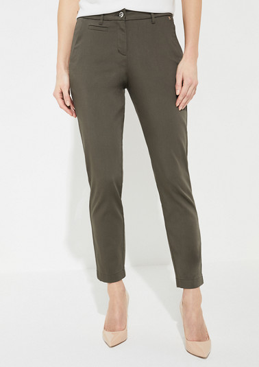 Regular Fit: Regular leg-trousers from comma