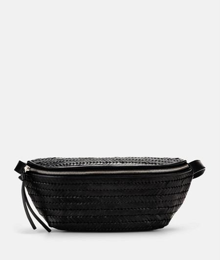 Belt wallet with braided leather from liebeskind