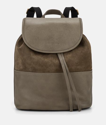 Rucksack aus Softleder