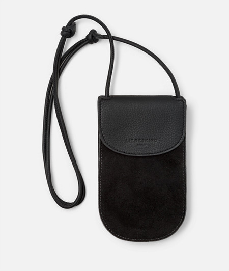 Smartphone neck pouch from liebeskind