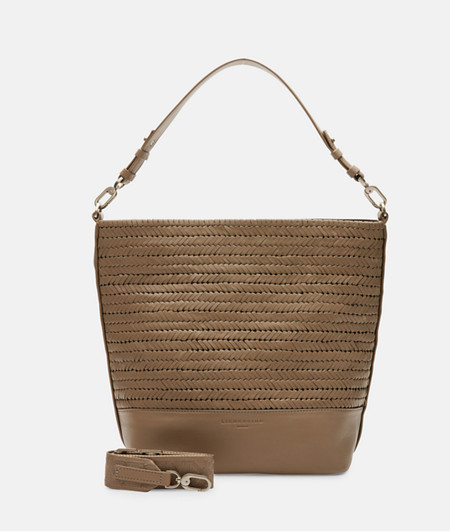 Bag with braided leather from liebeskind