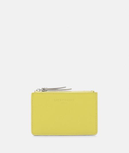 kleine Geldbörse mit Color Blocking