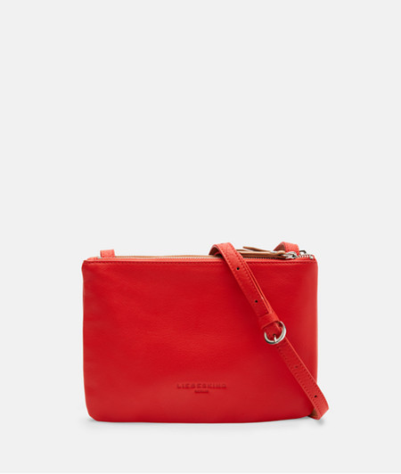 flache Crossbody Bag mit Color Blocking