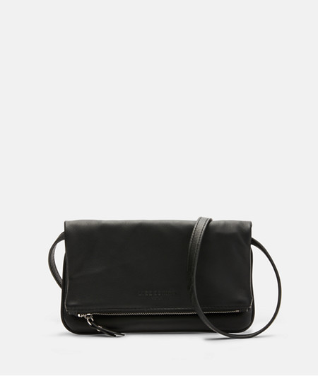 Delicate fold-over clutch bag from liebeskind