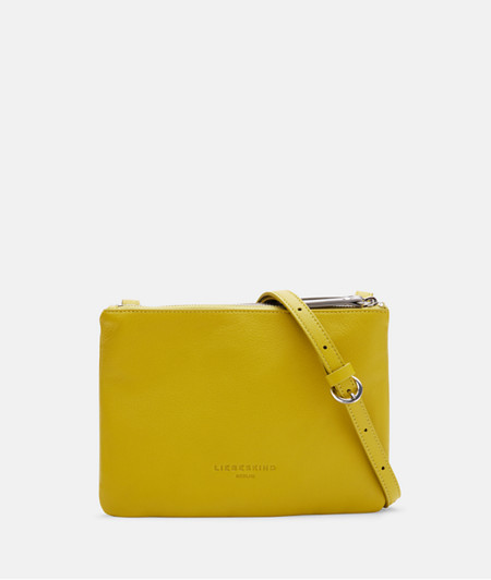 Flat cross-body bag with colour blocking from liebeskind