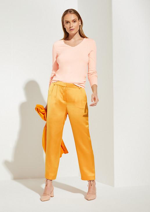 Pullover mit Schmuckperlen
