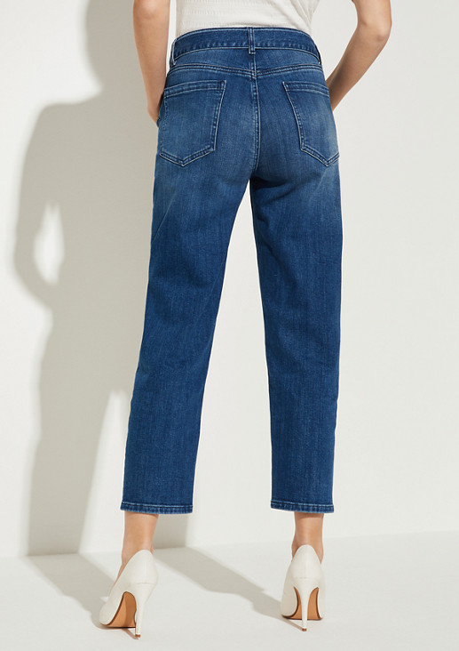Regular Fit: Straight crop leg-Jeans