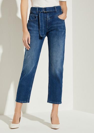 Regular Fit: Straight crop leg-Jeans