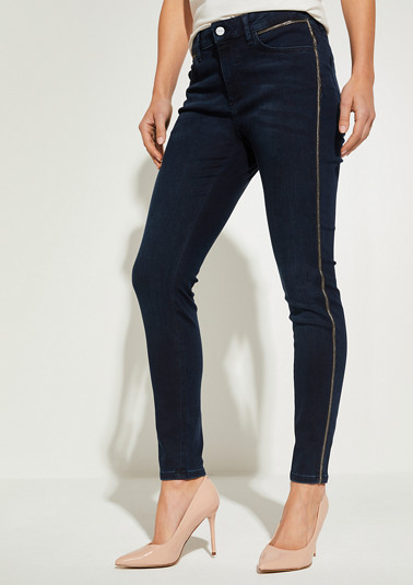 Slim fit: slim fit ankle-length jeans from comma