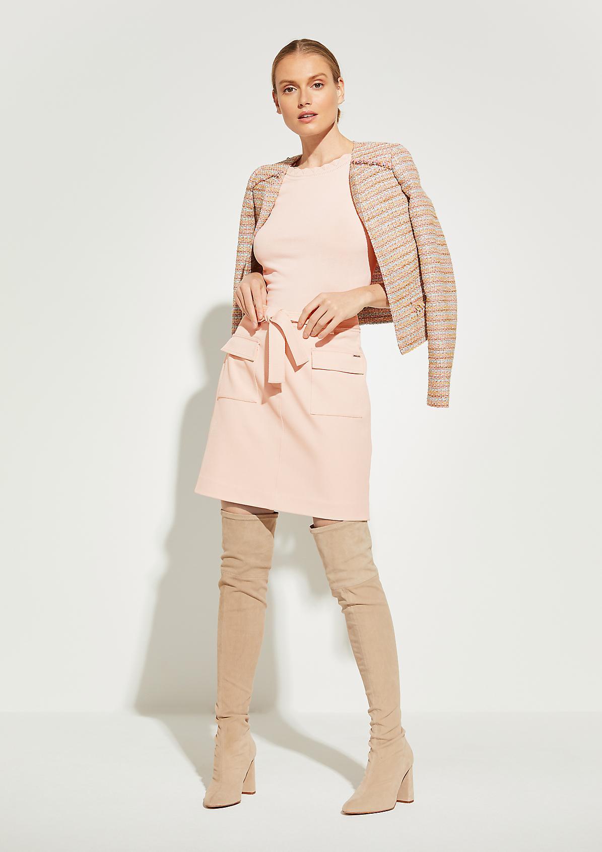 Pullover mit Ajour-Blende