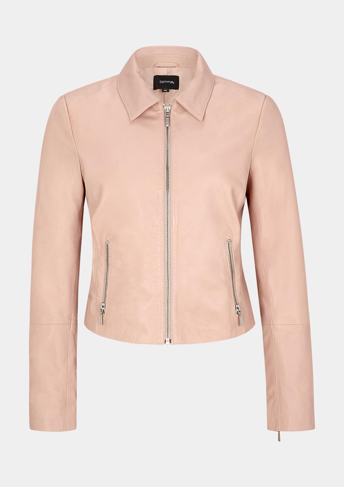 Jacke aus softem Nappaleder