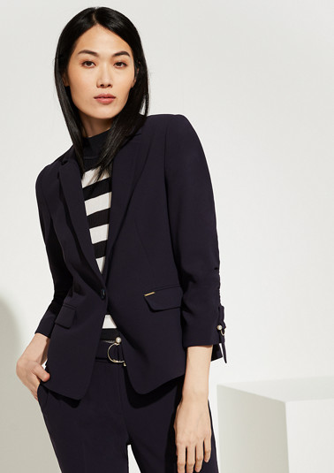 Crepe blazer from comma