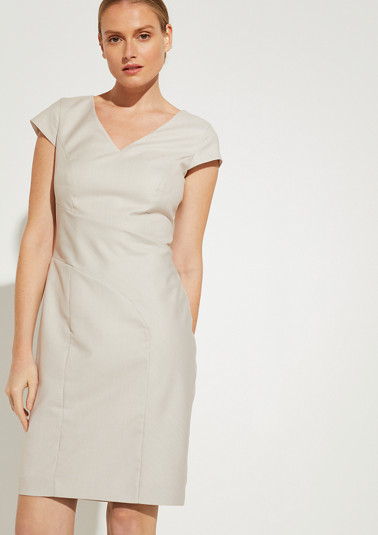 Elegantes Kleid aus Jacquard