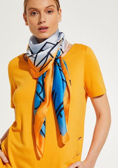 Satin scarf from comma