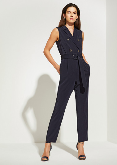 Elegant jumpsuit with buttons from comma