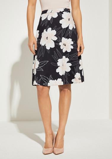 Regular Fit: skirt from comma