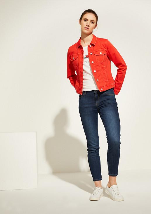 Slim Fit: Slim crop leg-Jeans