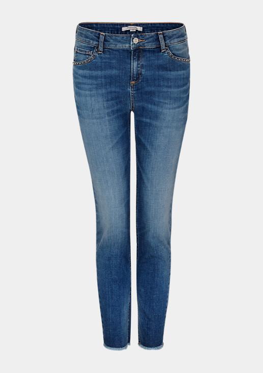 Slim Fit: Slim ankle leg-Jeans