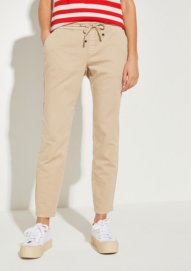 Relaxed Fit: athleisure-style trousers from comma