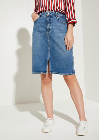 Jeansrock im 5-Pocket-Style