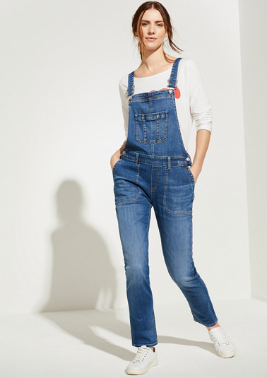 Denim dungarees from comma