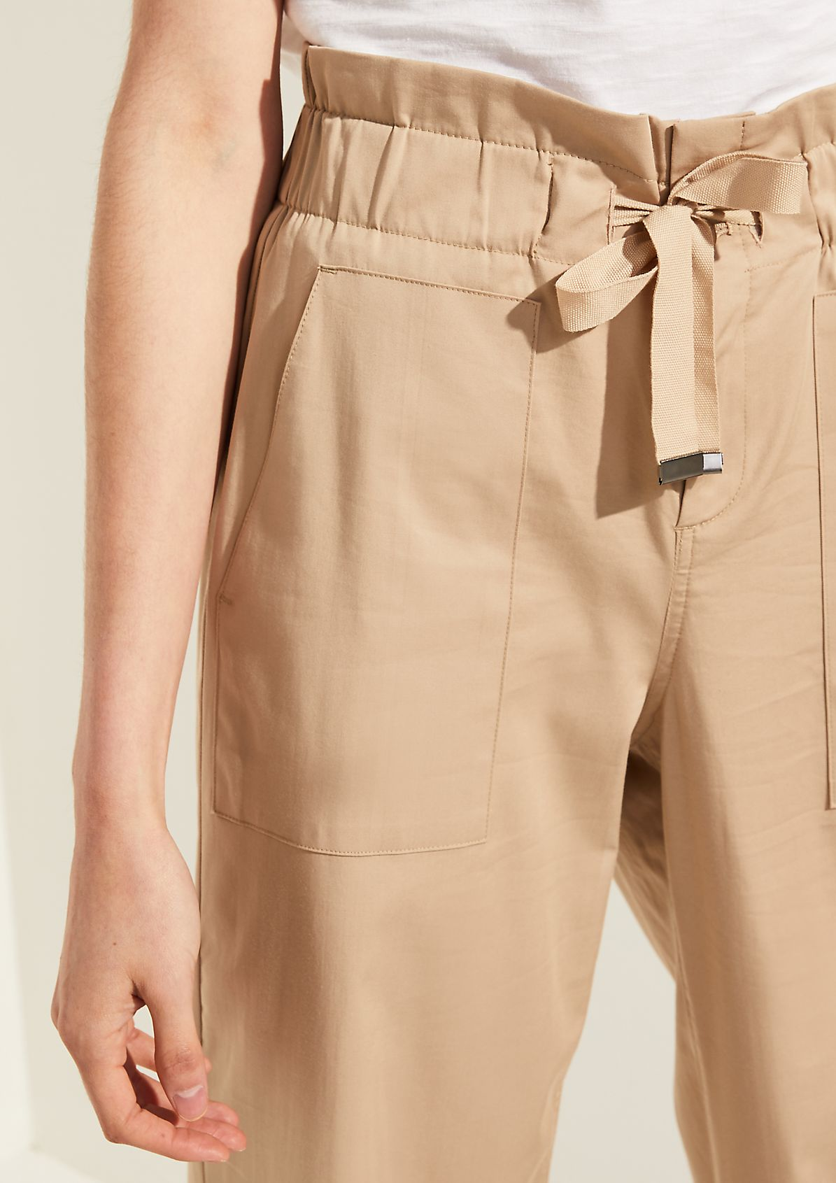 High Waist-Satinhose