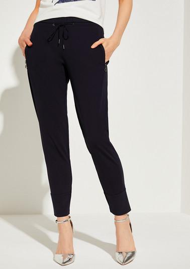 Regular Fit: Tapered ankle leg-Jogpants