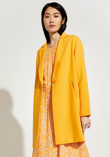 Coat in a classic style from comma