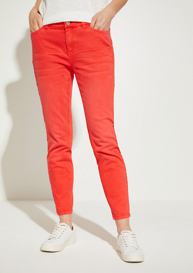 Skinny Fit: skinny leg coloured jeans from comma