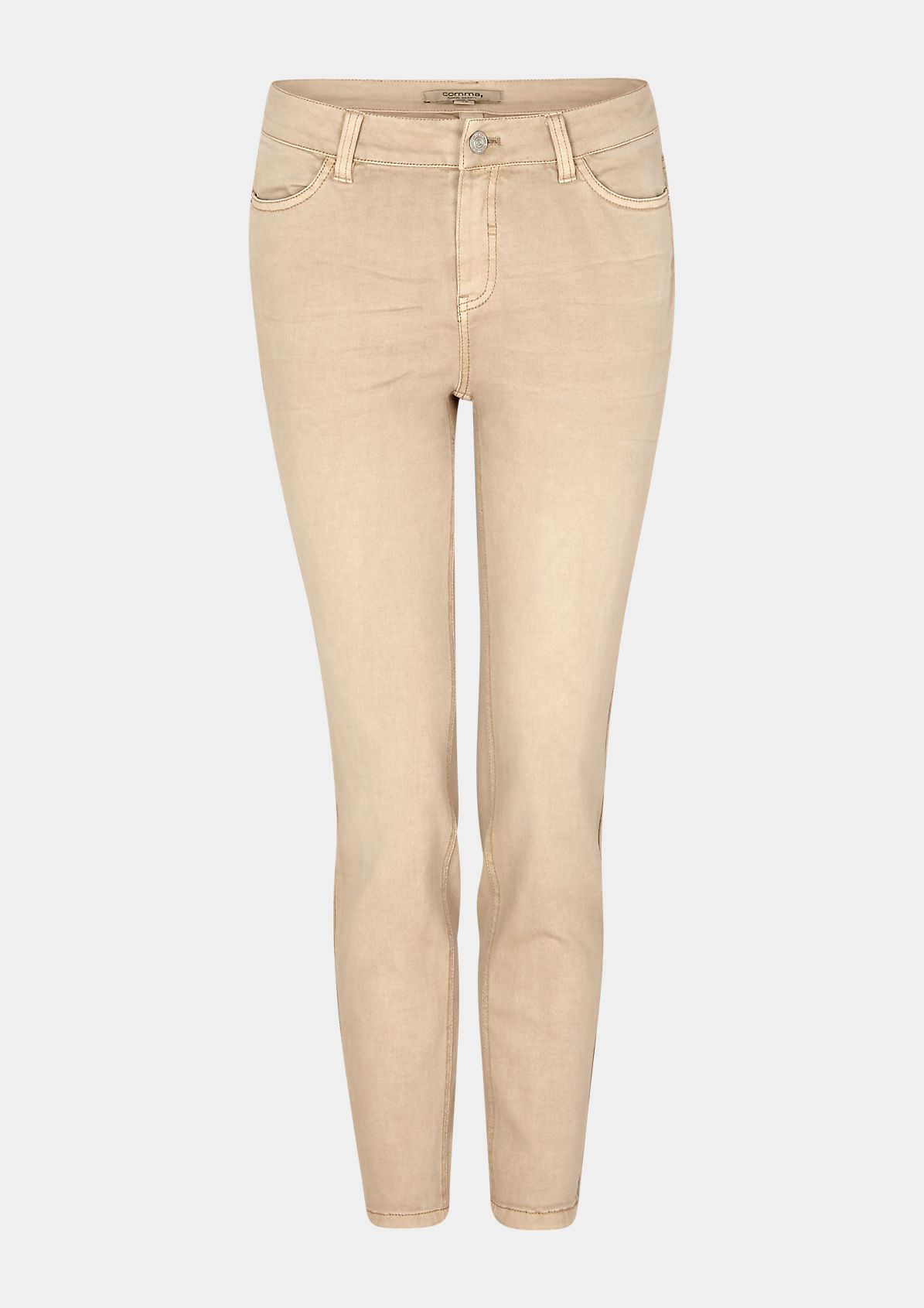 Skinny Fit: Skinny leg-Coloured Denim